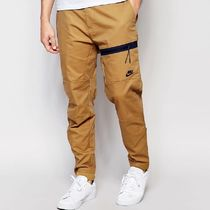 Nike Tapered Pants Street Style Plain Cotton Tapered Pants