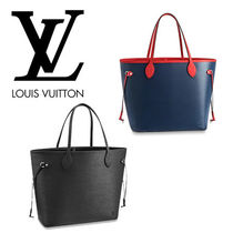 Louis Vuitton EPI Leather Office Style Totes