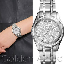 Michael Kors Metal Round Party Style Quartz Watches Analog Watches
