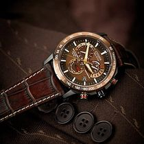 CITIZEN Leather Quartz Watches Analog Watches