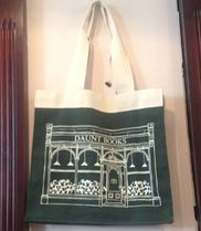Waterstones Unisex Canvas A4 Totes