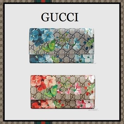 2016ss gg Blooms long wallet