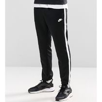 Nike Sweat Street Style Bi-color Plain Joggers & Sweatpants