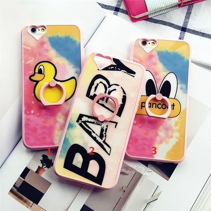 3type Hearted ring attaching phone case iPhone 5s 6 6plus