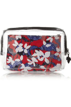 Flower Patterns Collaboration Pouches & Cosmetic Bags