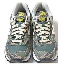 New Balance 574 Camouflage Street Style Leather Sneakers