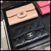 CHANEL MATELASSE Lambskin Street Style Card Holders