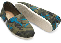 TOMS Camouflage Loafers & Slip-ons