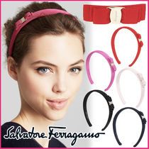 Salvatore Ferragamo Blended Fabrics Hair Accessories