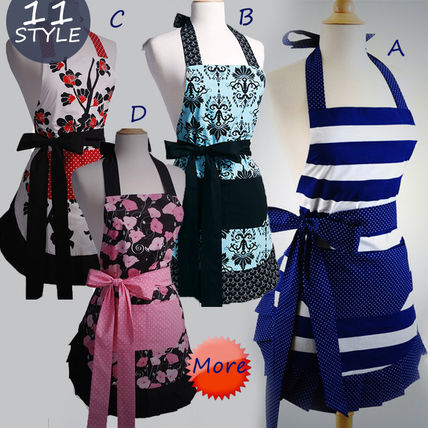 Apron stipes flowers Ribbon also select allow 1305