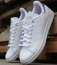 adidas STAN SMITH Plain Toe Street Style Plain Leather Sneakers