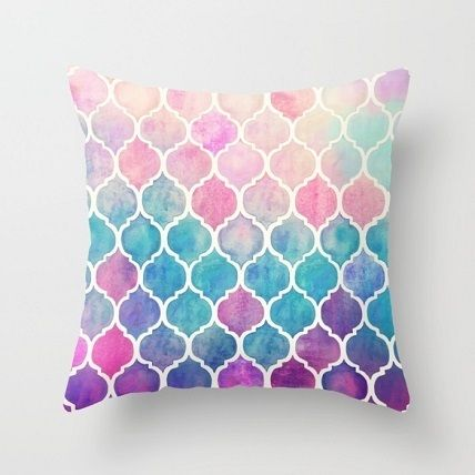 Pattern colorful cushion cover 40 cm