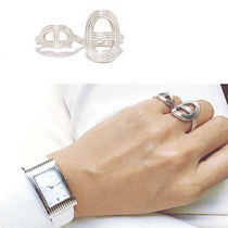 HERMES Chaine dAncre Silver Rings