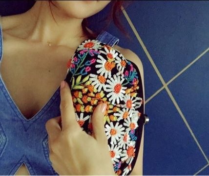 SANTI Clutches Party Style Clutches