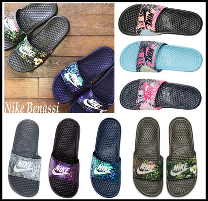 JDI PRINT Benasshi shower sandals