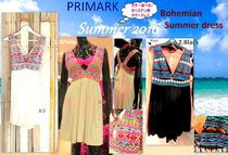 Primark Flower Patterns Blended Fabrics Swim One-Piece