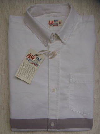 Button-down Long Sleeves Cotton Shirts