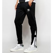 adidas Sweat Street Style Bi-color Plain Joggers & Sweatpants