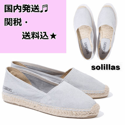 Casual Style Street Style Plain Leather Flats