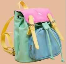 UNIF Clothing Casual Style Street Style Plain Backpacks