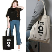 JUSTO Casual Style Cambus Street Style Shoppers