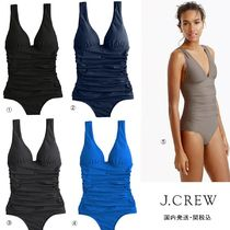 J Crew Plain Swim One-Piece