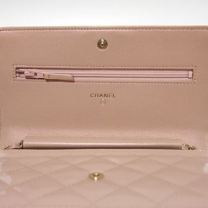 CHANEL Shoulder Bags 3WAY Plain Leather Party Style Shoulder Bags 5