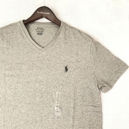 Ralph Lauren More T-Shirts Crew Neck Plain Cotton Short Sleeves T-Shirts 16
