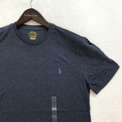 Ralph Lauren More T-Shirts Crew Neck Plain Cotton Short Sleeves T-Shirts 10