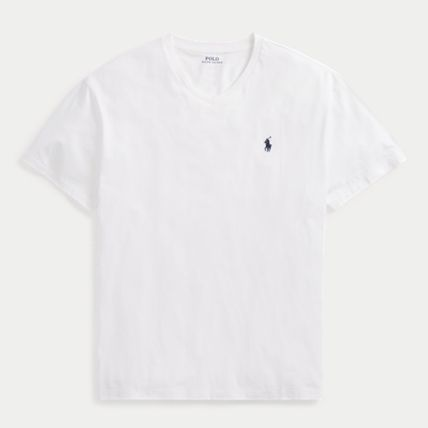 Ralph Lauren More T-Shirts Crew Neck Plain Cotton Short Sleeves T-Shirts 11