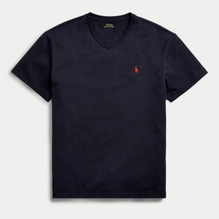 Ralph Lauren More T-Shirts Crew Neck Plain Cotton Short Sleeves T-Shirts 13