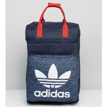 adidas Unisex Canvas A4 Plain Backpacks