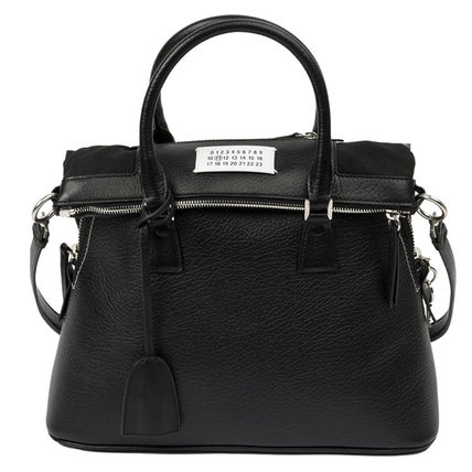 Spring-Summer 16 Margiela 5AC leather bag black
