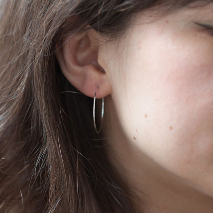 Silver Earrings & Piercings