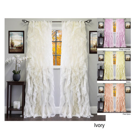 So many frilly curtains 2. pastel sets