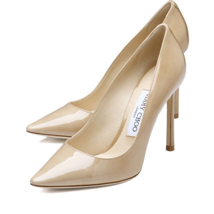 Pointed toe pumps beige ROMY Romy