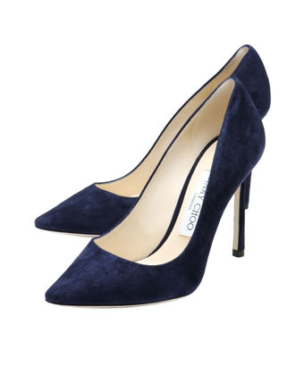 JIMMY CHOO pointed toe pumps dark ROMY