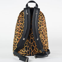 GIVENCHY Star Nylon Studded Street Style Backpacks