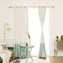Stripes Plain Curtains