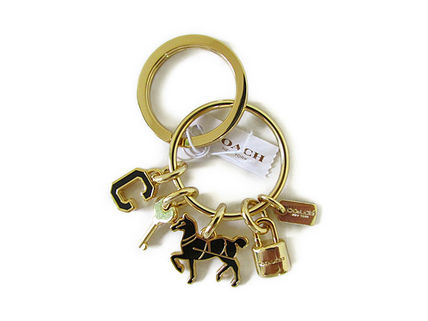 Coach Keychains & Bag Charms