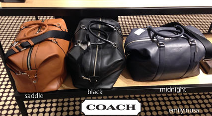 16 year leather made Boston bag F54765