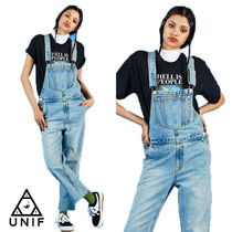 UNIF Clothing Casual Style Sleeveless Street Style Cotton Long