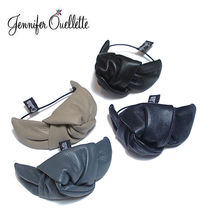 Jennifer Ouellette Leather Office Style Hair Accessories
