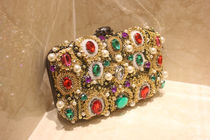 Party Style With Jewels Clutches