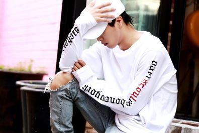ATAR More T-Shirts Unisex Street Style Long Sleeves Cotton Oversized T-Shirts 9