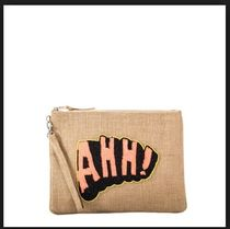 Anthropologie Casual Style Vanity Bags Bi-color Clutches