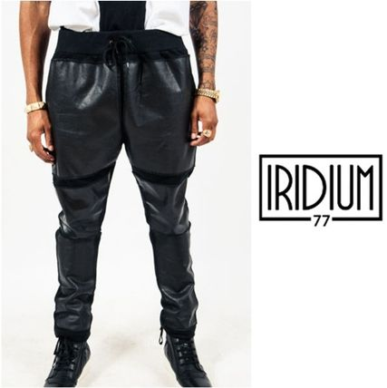 Street Style Leather Pants