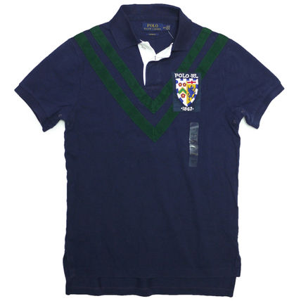 Ralph Lauren Polos Cotton Short Sleeves Surf Style Polos
