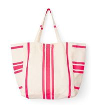 Victoria's secret Stripes Canvas Plain Office Style Totes