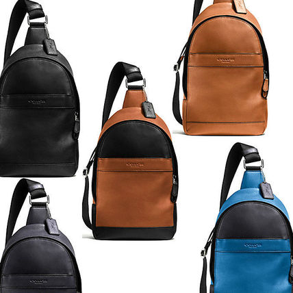 Lightweight sling CAMPUS PACK IN SMOOTH LEATHER F71751